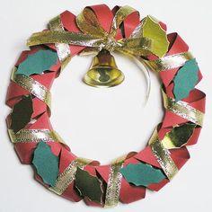 紙工作 クリスマスツリーとクリスマスリースの作り方 Diy And Crafts, Paper Crafts, Crepe Paper, Quilling, Projects To Try, Christmas, Christmas Decor, Christmas Ornaments, Crowns