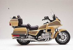 Honda Goldwing GL1200.this Goldwing is very similar to the one my dad once rode.
