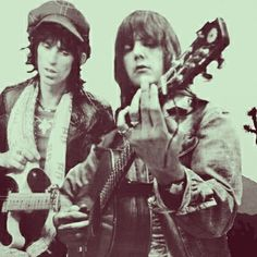 Here's how it's done..Gram Parsons and Keith Richards.  They both loved country music, put to a rock beat.