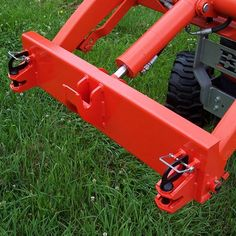 Kubota BX Tractor Quick Attach Small Tractors, Compact Tractors, Garden Tractor Attachments, Kinetic Toys, Metal Worx, Tractor Accessories, Kubota Tractors, Tractor Implements, Shed Storage