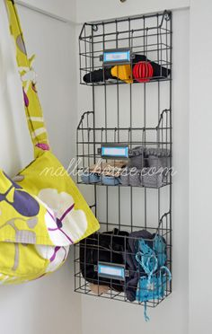 I SO want these baskets...guess I'll have to make a special trip to Canada though - only sold at HomeSense & no online store!! :) Nalle's House: Mini Mudroom Reveal