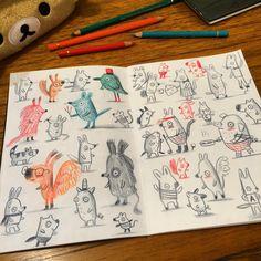 Sketchbook © Linzie Hunter