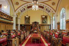 Belfast City Hall Council Chamber Print by Barry O Carroll Belfast City, Donegal, Fine Art America, Ireland, Photography, Fotografie, Photograph, Photo Shoot, Irish