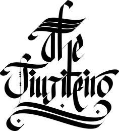 #logo #personal #create #calligraphy Create logo for Fiverr customer.