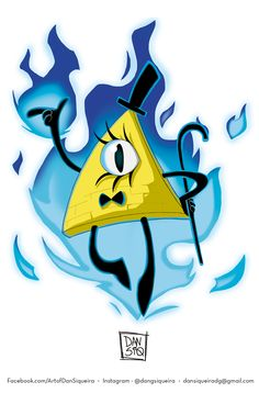 Bill Cipher - Gravity Falls  #gravityfalls #billcipher #draw #illustration #triangleguy #illuminati