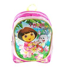 Dora the Explorer  Dora and Boots Large Pink Backpack * You can get more details by clicking on the image.