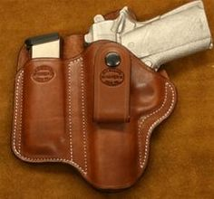 """Texas Conceal Carry"" for 1911 4.25 w/Belt Loop LH-SR"