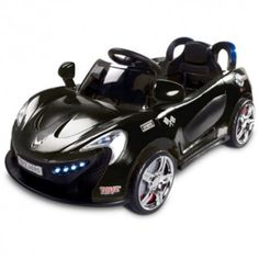 aero electric kids battery operated ride on car black