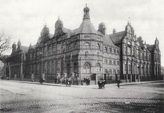This is Hugh Bell High School: I think this is among Middlesbrough's greatest lost treasures. This is one of the most beautiful building's I have ever seen. It was demolished (no surprise) in the 70s to make way for the juvenile court near the Central Library. It just goes to show what a wonderful town we had.