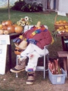 "The ""Headless Harvester"" at our self-serve produce stand in South Kent, CT"