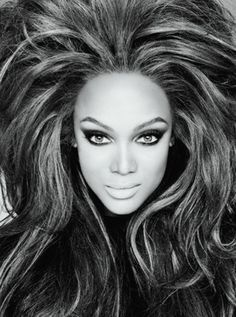 Tyra Banks is looking fierce!!