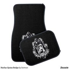 Harley Quinn Badge - Car Floor Mats and Automobile Accessories
