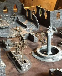 Fantasy City, Custom Action Figures, Miniture Things, Tabletop, Eye Candy, Miniatures, Suit, Models, Adventure