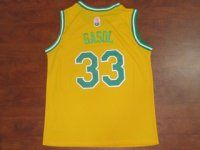 e1e65f979 Memphis Grizzlies Cheap NBA Marc Gasol  33 Yellow ABA Hardwood Swingman  Jersey  F784