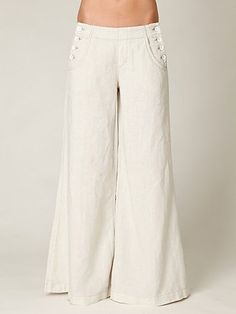 I am patiently waiting for Easter so I can bust out my white sailor pants for spring.