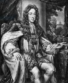 King of England William III, (1650-1702, king in 1689-1702), prince of Orange and Nassau, Stadholder of Holland (1672-1702), engraving / Photo © Tallandier / Bridgeman Images