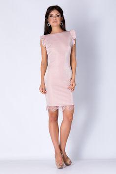 www.ollalaa.com Rose Dress, Formal Dresses, Design, Fashion, Pink Sundress, Dresses For Formal, Moda, Fashion Styles, Fasion