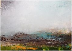 Rain in Ciarrai' Mixed media on board X Once you 'aclimatise' there is something quite hynotic about the rain – there is a softness to it. In this painting I tried to capture that Irish Landscape, Abstract Landscape, Abstract Painters, Mixed Media, Rain, Artists, Board, Crafts, Painting
