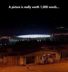 No Need For Words. Brazil needs more than a World Cup..