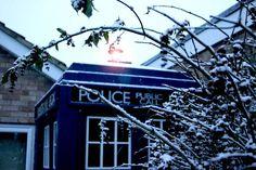 Winter TARDIS