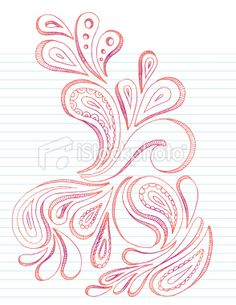 paisley doodles | Paisley Doodle Royalty Free Stock Vector Art Illustration