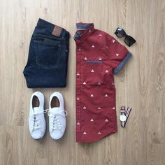 Mens Fashion Trends For 2018 - Top Fashion For Men Traje Casual, Casual Wear, Casual Outfits, Men Casual, Fashion Outfits, Fashion Tips, Fashion Sale, Casual Shirt, Casual Fall