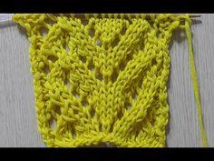 대바늘 하트무늬 - YouTube