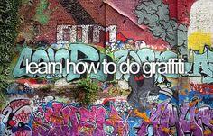 Learn graffiti