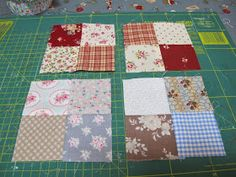 MI RINCON DE COSTURA: COLCHA DE CUADRITOS Colchas Quilting, Scrappy Quilt Patterns, Patchwork Tutorial, Diy Pillow Covers, Diy And Crafts, Projects To Try, Patches, Quilts, Blanket