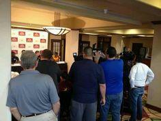Covering 2012 El Toro Bowl Press Conference.