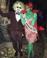 Homemade Costumes for Couples & miss argentina beetlejuice - Google Search | Cosplay Plans ...