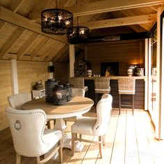 Look for high quality garden log cabins? ✅ Bespoke design is possible! ✅ Design your own wooden log cabin with our Check out now! Log Cabin Sheds, Garden Log Cabins, Log Cabin Living, Log Cabin Homes, Summer House Interiors, Log Home Interiors, Log Cabin Furniture, Western Furniture, Wood Furniture