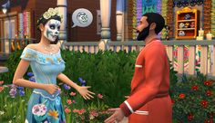 'The Sims 4' Free Update Adds New Items For Day Of The Dead Event Challenge