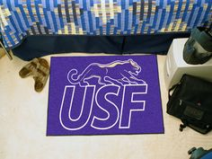 Collegiate University of Sioux Falls Starter Area Rug