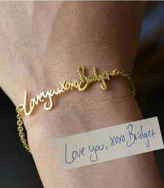 This elegant bauble is designed to look like a sweet note that you jotted down.  $39, bigEjewelry.etsy.com  - GoodHousekeeping.com