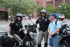 Essential Oils We Trust's, Paul Pike thanks Salt Lake City Police Officers for helping out with the D Gary Young Foundation Walk a Mile for a Child Fundraiser, 2014.
