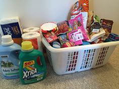 """Annual Adult Easter Egg Hunt 2016 After our granddaughter hunts Easter eggs, we hide things in the yard for the """"adult kids."""" They bring their laundry baskets to put items in. To make hunting easier, I type out a list of items to be found. Each year this has been so much fun!"""