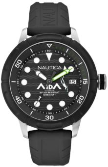 NAUTICA A.I.D.A. Limited Edition Watch - support the freedivers from A.I.D.A. Austria for their WM