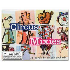 Circus Mixies Card Game