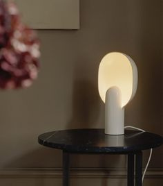 The round shade of the Ware lamp covers the bulb and scatters the light in a comfortable way. When the lamp is on, a depth appears in the layers of the shade which creates a unity of light and darkness. Lantern Pendant, Pendant Lamp, Desk Lamp, Table Lamp, Lamp Cover, Dimmable Led Lights, Ivory White, New Words, Frosted Glass