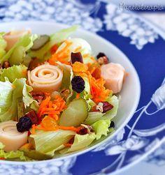 PANELATERAPIA - Blog de Culinária, Gastronomia e Receitas: Salada de Verão!