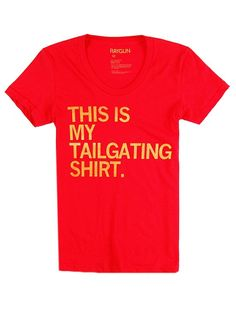 This is my tailgating shirt! #eatatjacks