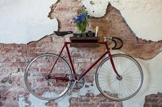 30 Creative Bicycle Storage Ideas | Notapaperhouse.com magazine