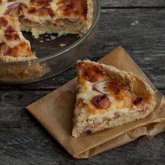 Paj av gammalt bröd Recipe For Mom, Different Recipes, Mozzarella, Baking Recipes, Moms Food, Food And Drink, Pizza, Cheese, Casseroles