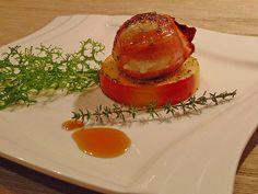 Gudruns Apfel - Speck - Ziegenkäse Türmchen mit Honig und Thymian, ein sehr leckeres Rezept aus der Kategorie Eier & Käse. Bewertungen: 231. Durchschnitt: Ø 4,8.