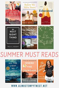 Summer Must Read Books - Almost Empty Nest Books To Buy, Read Books, New Tork Times, Printable Bible Verses, Struggle Is Real, Parenting Teens, Ted Talks, Read News, Fiction Books