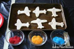 airplane sugar cookies #shop