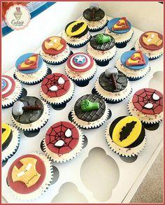 Avenger cupcakes