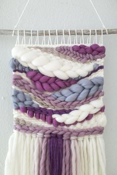 Your place to buy and sell all things handmade Weaving Loom Diy, Weaving Art, Tapestry Weaving, Hand Weaving, Weaving Wall Hanging, Wall Hangings, Macrame Patterns, Weaving Patterns, Quilt Patterns
