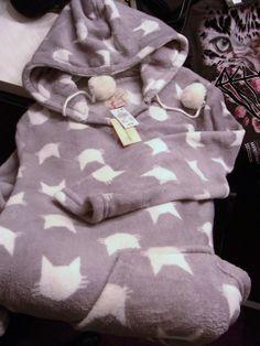 Primark Love to Lounge Home Dress Fleece with Catprint allover 442e7e6bda4e